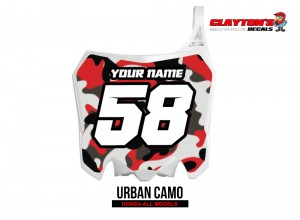 Honda MX Graphics - Urban Camo