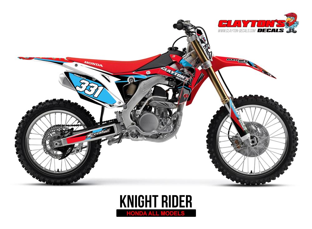 Honda MX Graphics- Knight Rider