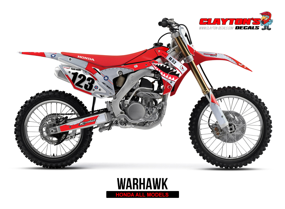 Honda MX Graphics - Warhawk