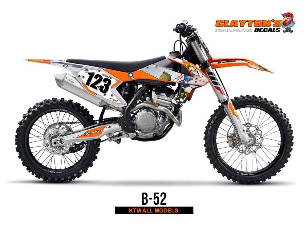KTM MX Graphics - B-52