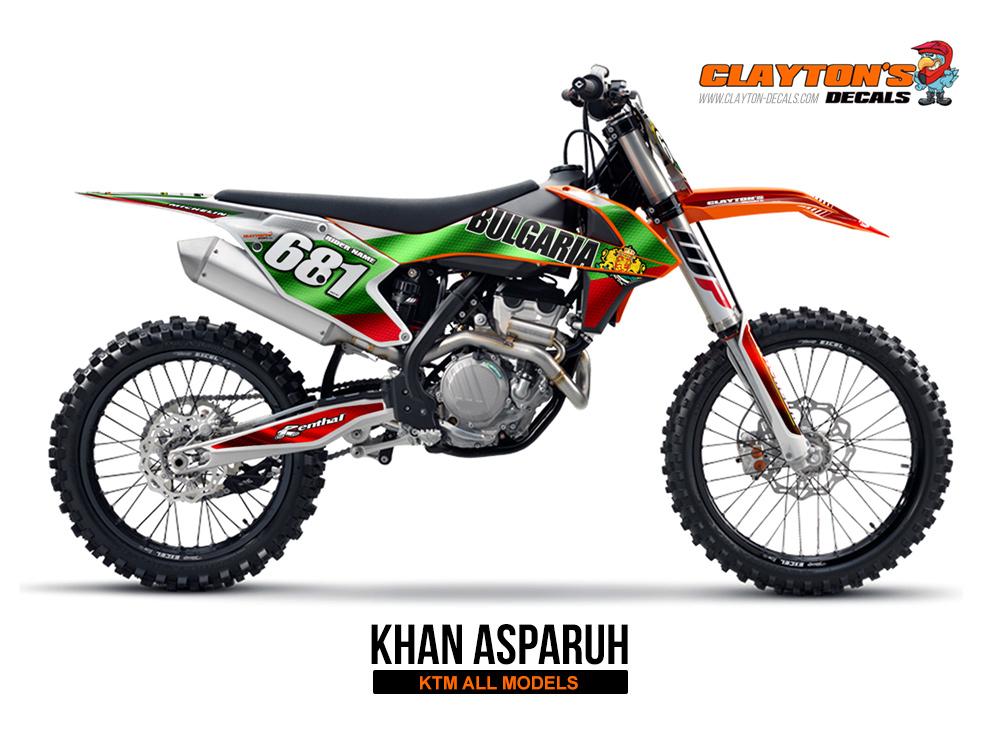 KTM MX Graphics - Khan Asparuh