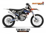 KTM MX Graphics - Team Micky 97 2019