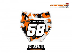 KTM MX Graphics - Urban Camo