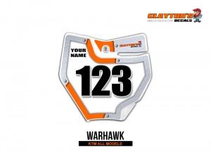 KTM MX Graphics - Warhawk