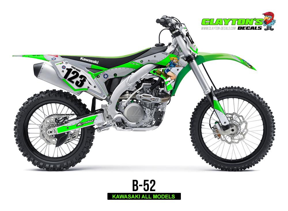 Kawasaki MX Graphics - B-52
