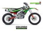 Kawasaki MX Graphics - Khan Asparuh