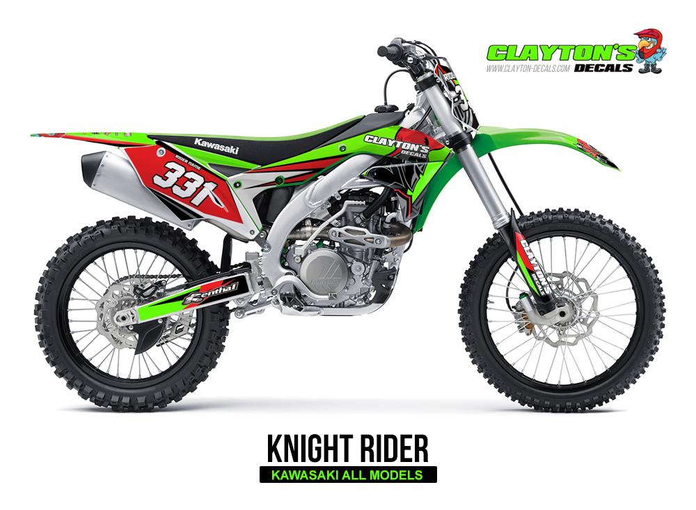 Kawasaki MX Graphics - Knight Rider