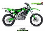 Kawasaki MX Graphics - Splash