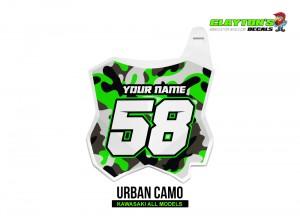 Kawasaki MX Graphics - Urban Camo