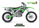 Kawasaki MX Graphics - Warhawk