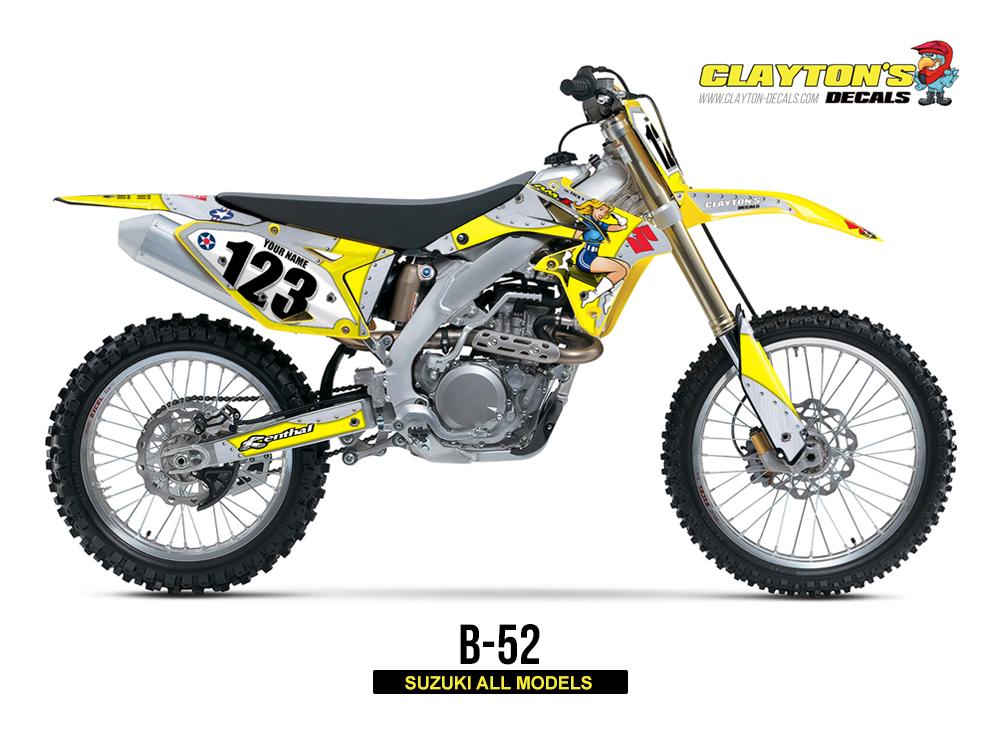 Suzuki MX Graphics - B-52