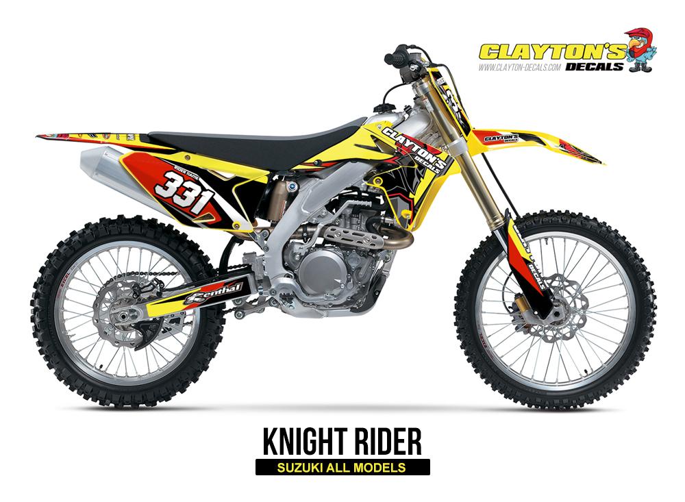 Suzuki MX Graphics - Knight Rider