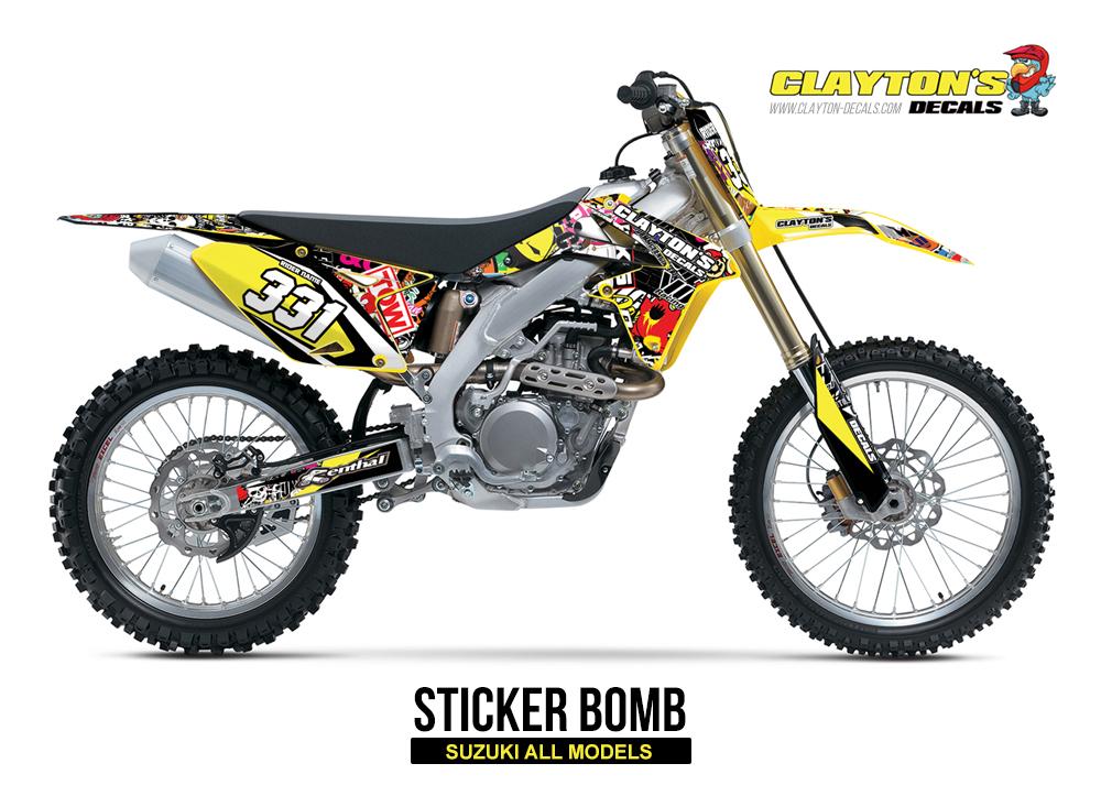 Suzuki MX Graphics - Sticker Bomb
