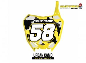 Suzuki MX Graphics - Urban Camo
