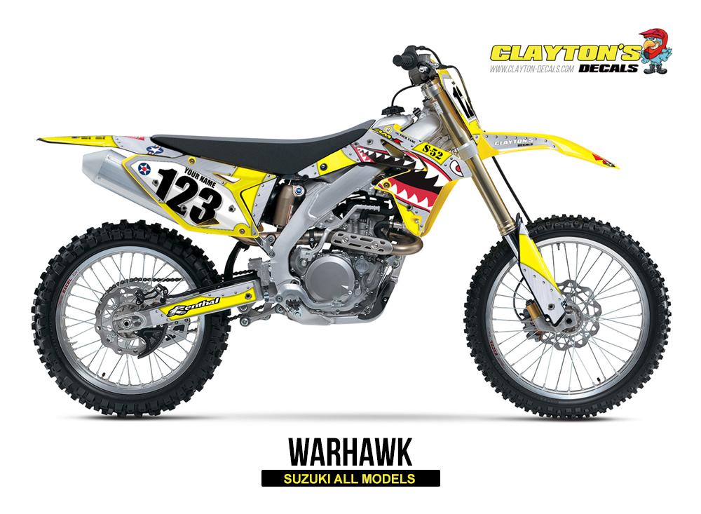 Suzuki MX Graphics - Warhawk