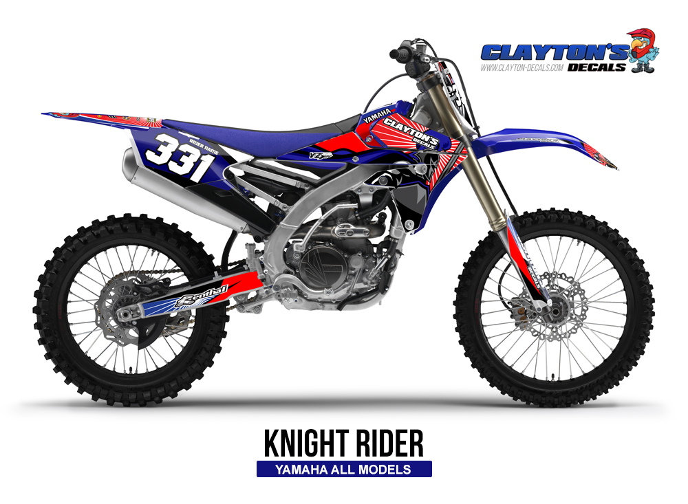 Yamaha MX Graphics - Knight Rider