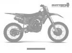KTM MX Graphics - Stripes